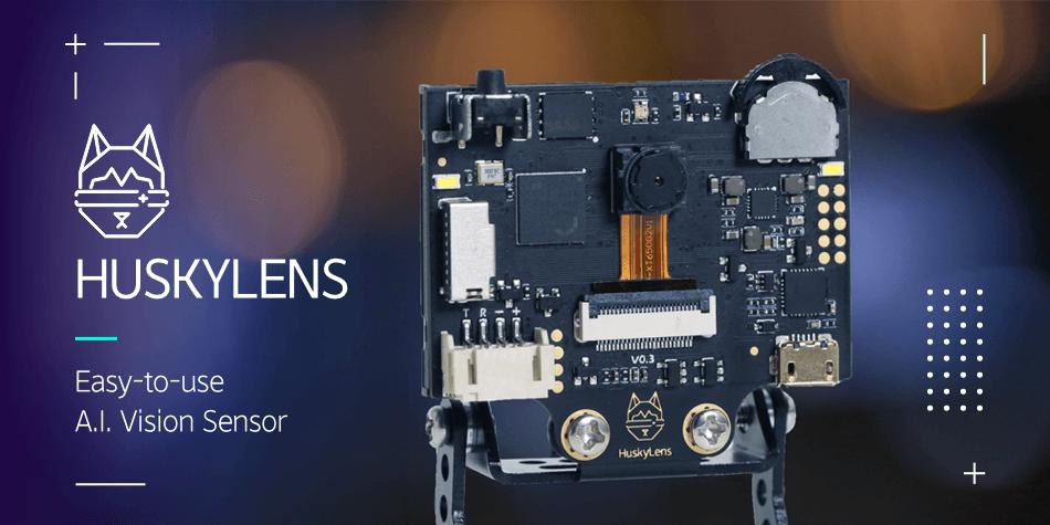 HuskeyLens, AI Camera, vision sensor