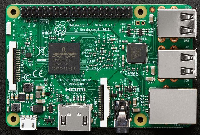 Raspberry Pi 3 Model B, Raspberry Pi 3, Raspberry Pi