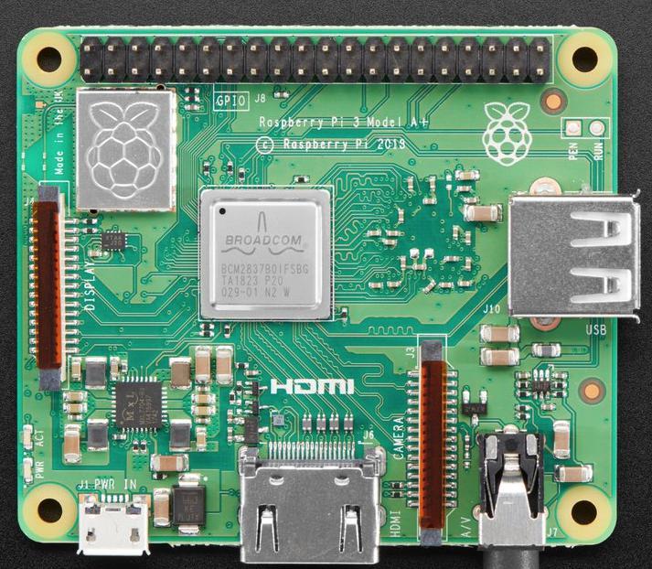 Raspberry Pi 3 Model A+ (E14), Raspberry Pi 3, Raspberry Pi