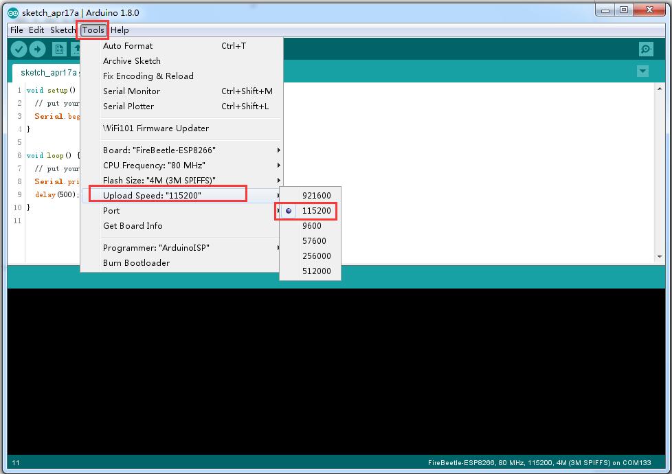 Esp8266 download arduino