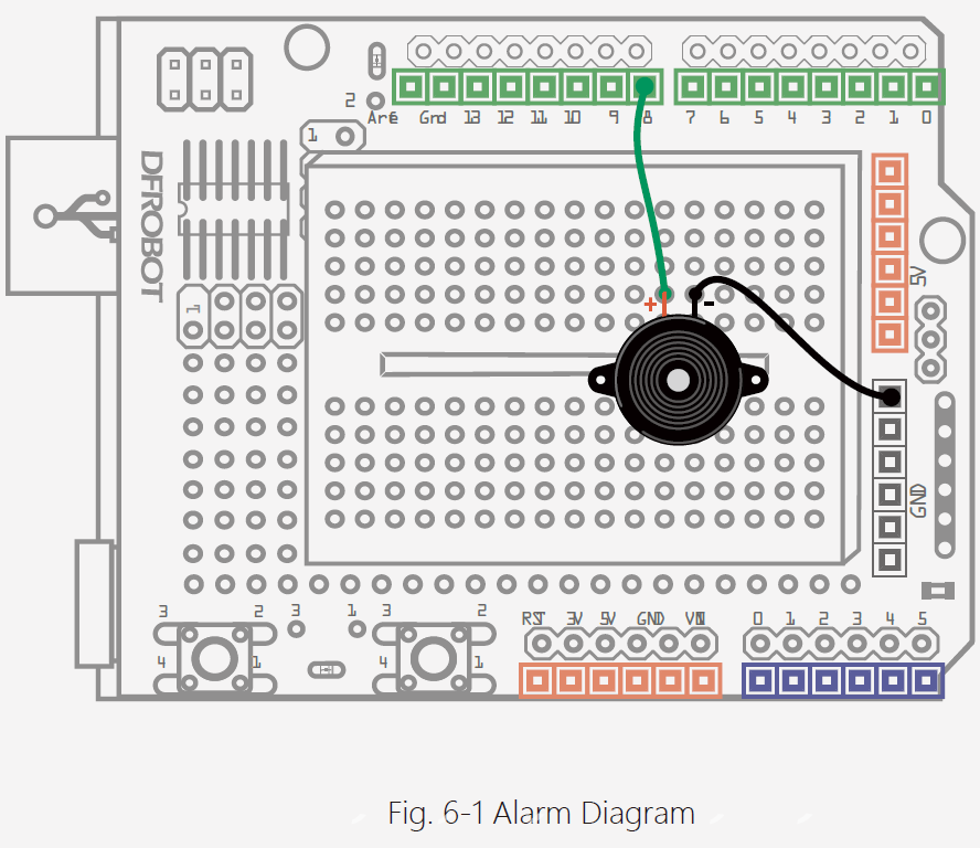 Arduino Project 6: Alarm