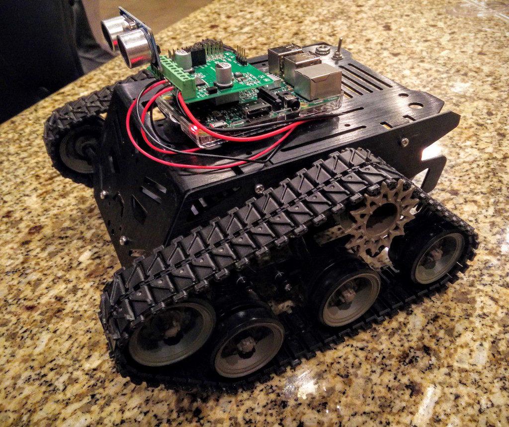 DFRobot Devastator Tank Robot Part 2 Raspberry Pi Python