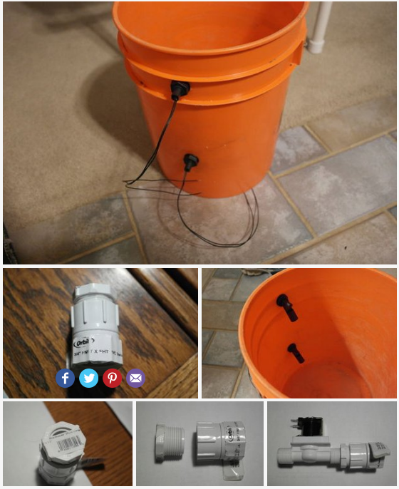 Hyduino - Automated Hydroponics with an Arduino - DFRobot