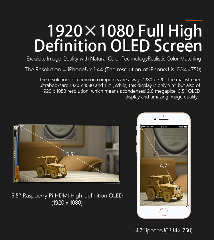 DFR0524-High Definition Screen
