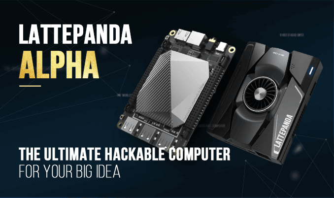 LattePanda Alpha 864 – A hackable computer