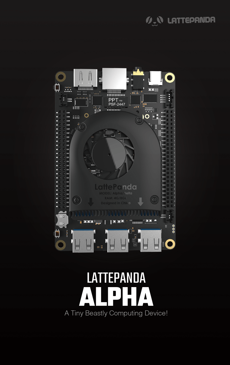 LattePanda Alpha 864 – Tiny Ultimate Windows / Linux Device
