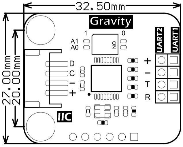 Gravity: IICtoDualUARTModule