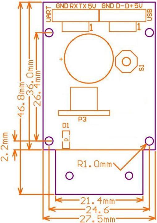 CM65 QR & Barcode Scanner Module