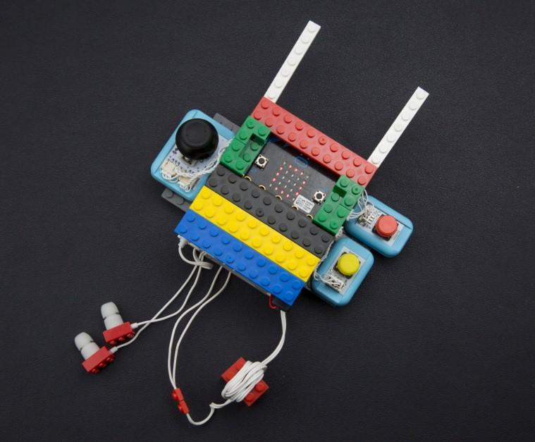 micro:bit game pad
