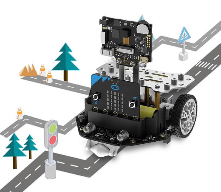 Maqueen, K12 STEM Edu robot, micro: bit