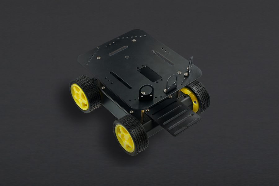 Review for A4WD mobile robot platform
