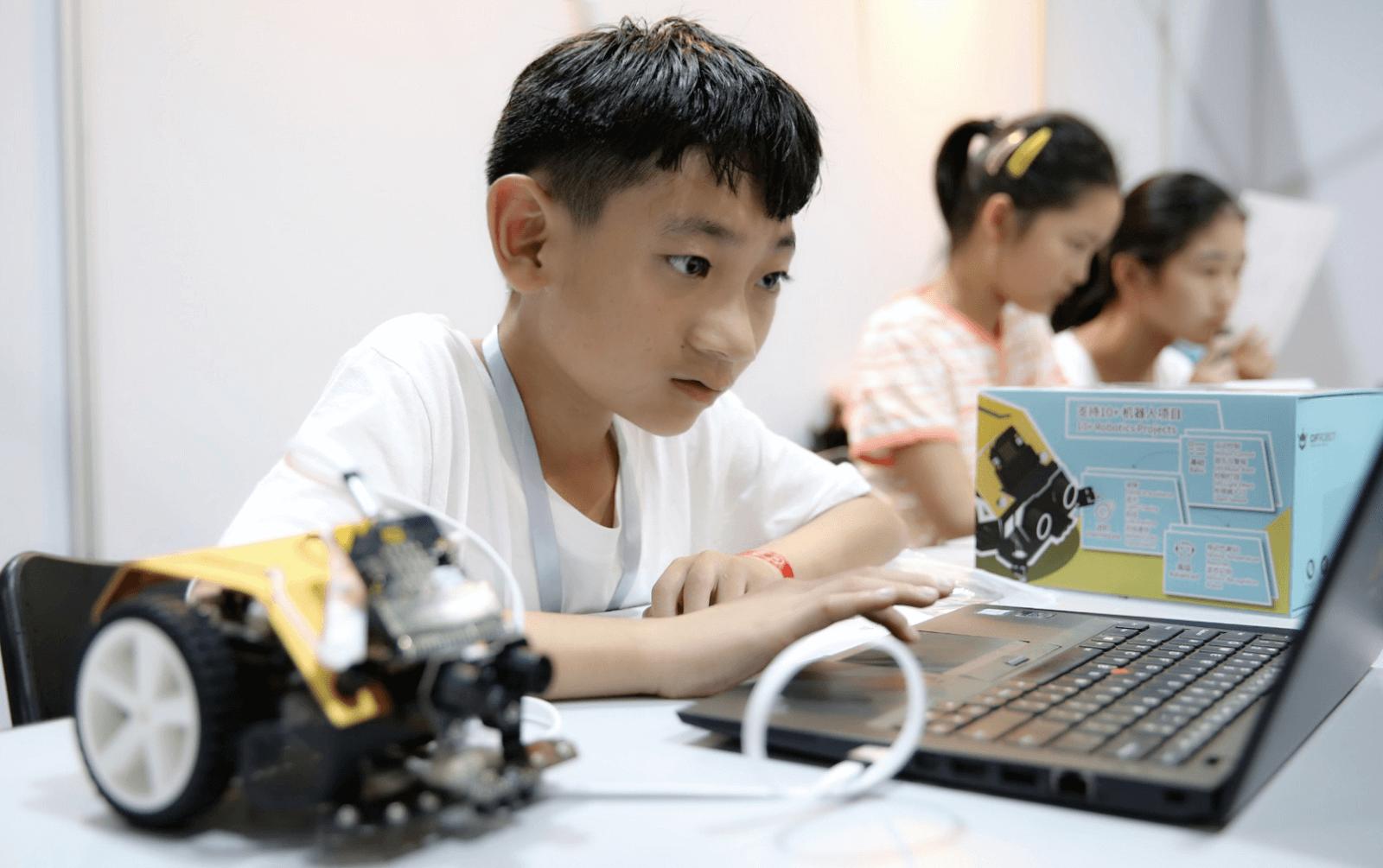 Children program with Max:Bot
