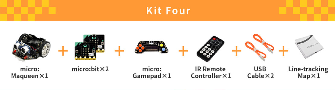 micro: Maqueen (with micro:bit/micro:Gamepad/IR Remote Controller)