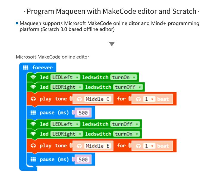 ROB0148-makecode programming