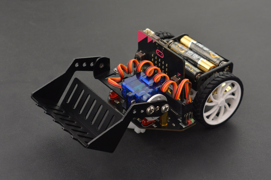micro: Maqueen with Mechanic-Loader and micro:bit