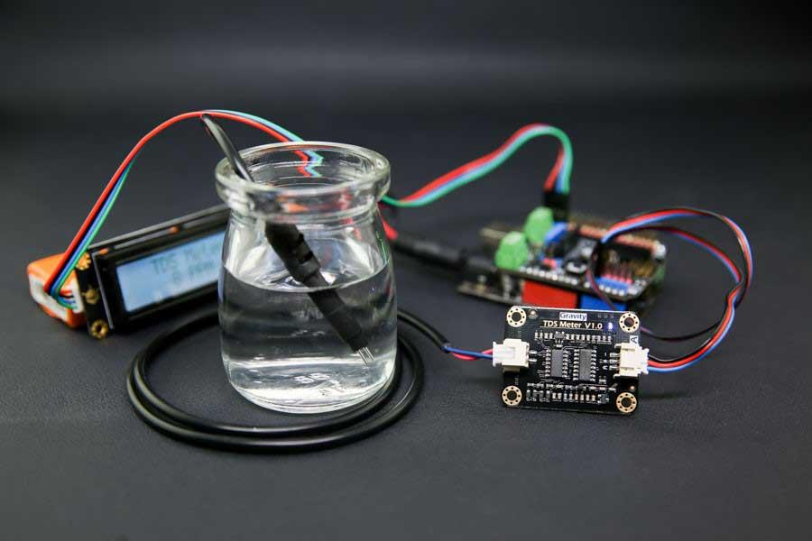 Gravity: Analog TDS Sensor/Meter for Arduino Connection