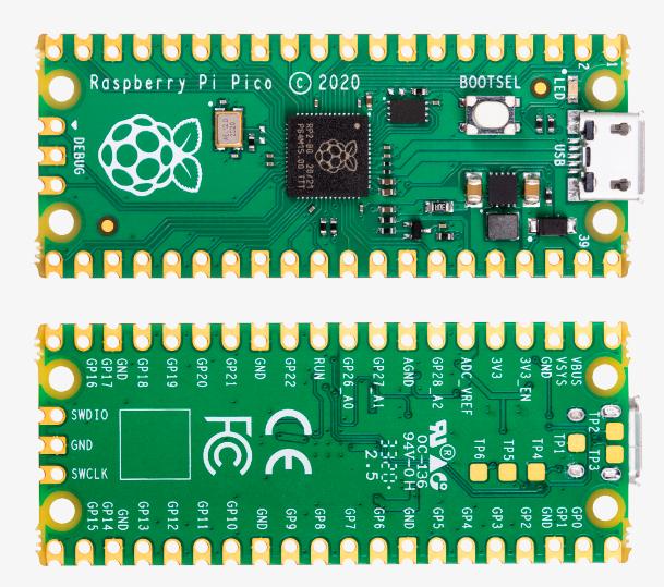 Raspberry Pi Pico Board Overview