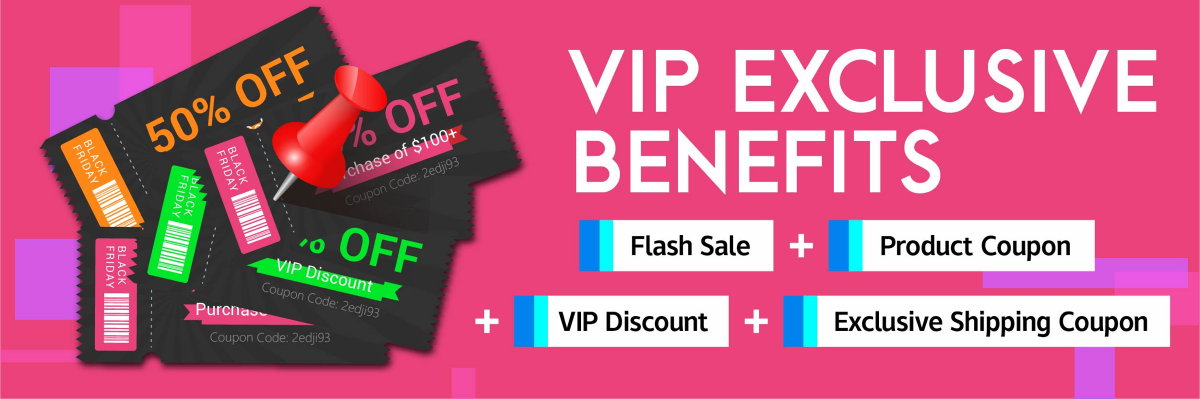 EXCLUSIVE BENEFITS FOR MEMBERS