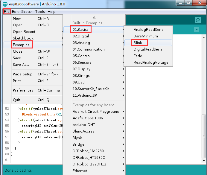 Eclipse arduino download manager esp32