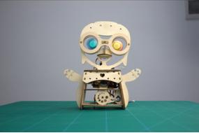 How to make a Wobbly Penguin Arduino Robot