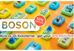 Back Us On Kickstarter and Get 30% Refund