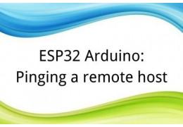ESP32 Arduino: Pinging a remote host