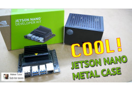 Cool!!! JETSON Nano Metal Case - DFRobot