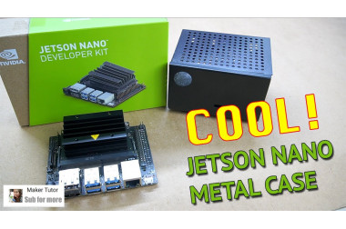 Cool!!! JETSON Nano Metal Case - DFRobot>