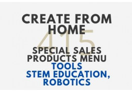 Special Sales Products Menu (Tools, STEM Education, Robotics) - Create from Home