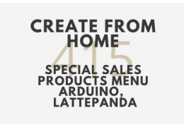 Special Sales Products Menu (Arduino , LattePanda) - Create from Home