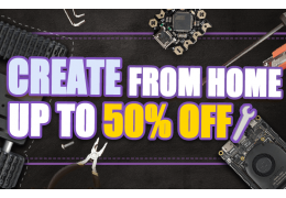 Create from Home, Discounts Up to 50% Off!