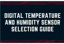 Digital Temperature and Humidity Sensor Selection Guide