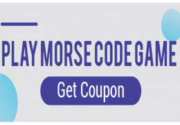 Play Morse Code Game, Get Coupon - DFRobot 10th Anniversary Event