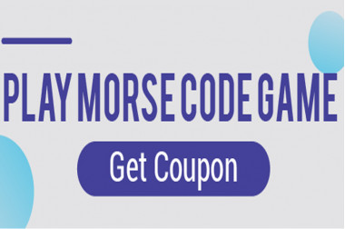 Play Morse Code Game, Get Coupon - DFRobot 10th Anniversary Event>