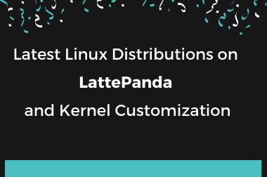 Latest Linux Distributions on LattePanda and Kernel Customization