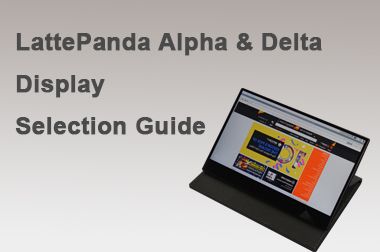 LattePanda Alpha & Delta Display Selection Guide>