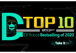 2020 Top 10 Bestselling DFRobot Products