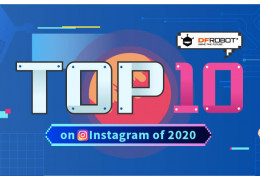 DFRobot's Top 10 Instagram Posts of 2020