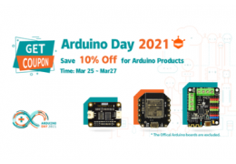 2021 Arduino Day (2021 Mar. 25 - Mar. 27)