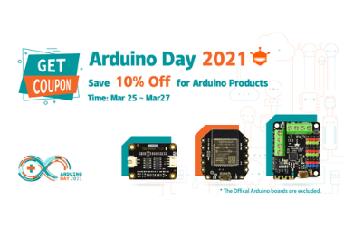 2021 Arduino Day (2021 Mar. 25 - Mar. 27)>