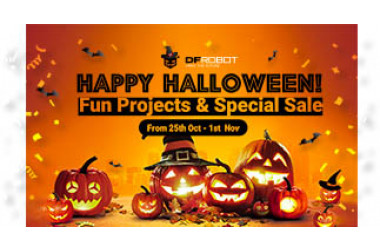 2021 DFRobot Halloween Party! Sales and Projects>