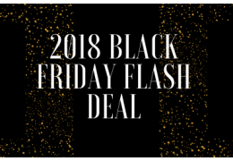 2018 Black Friday Flash Deal