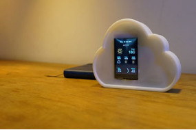 ESP8266 Project: Desktop Weather Station With WIFI