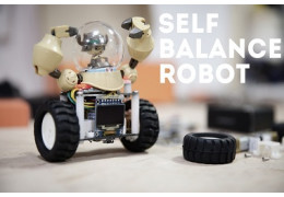 Make Your Own Desktop Self-Balancing Robot
