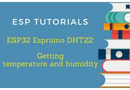ESP32 Espruino DHT22 Tutorial: Getting temperature and humidity