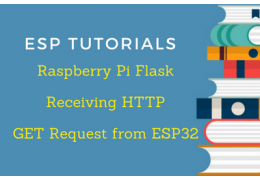 Raspberry Pi Flask Tutorial: Receiving HTTP GET Request from ESP32