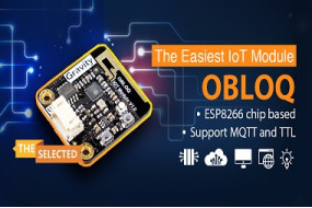 [The selected] OBLOQ, the easiest IoT module - DFRobot Gravity Sensor 01