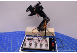 DFRobot 5 DOF Robot Arm – Building the Robotic Arm