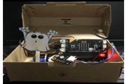 Micro:bit Surprise box