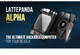 LattePanda Alpha, The World's Most Powerful Hackable Device for Creators